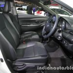 Toyota Vios Exclusive front cabin at the Thai Motor Expo Live