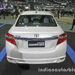 Toyota Vios Exclusive rear at the Thai Motor Expo Live