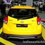 Toyota Yaris TRD Sportivo special edition rear at the Thai Motor Expo