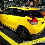 Toyota Yaris TRD Sportivo special edition rear three quarters at the Thai Motor Expo