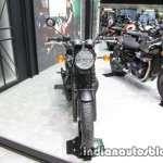Triumph T100 Black front at Thai Motor Expo