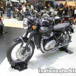 Triumph T100 front three quarter at Thai Motor Expo