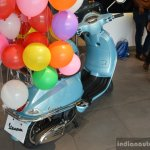 Vespa VXL 70th Anniversary Edition rear three quarter launched