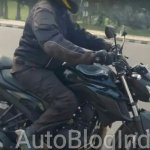 Yamaha MT-03 body spied testing