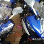 Yamaha R15 v2.0 spyshot headlampconsole