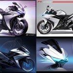 Yamaha R25 2017 rendering