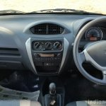 2016 Maruti Alto 800 (Facelift) dashboard Review
