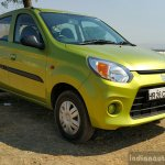 2016 Maruti Alto 800 (Facelift) front quarter close Review
