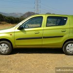 2016 Maruti Alto 800 (Facelift) side Review