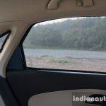 2016 Skoda Rapid rear window and quarter glass review