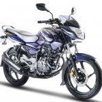 2017 Bajaj Pulsar 135LS front three quarter
