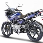 2017 Bajaj Pulsar 135LS rear three quarter left