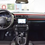2017 Citroen C3 interior dashboard at 2016 Bologna Motor Show