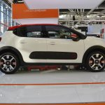 2017 Citroen C3 profile at 2016 Bologna Motor Show