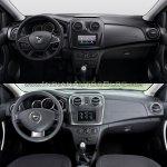2017 Dacia Logan sedan vs 2012 Dacia Logan sedan interior Old vs New