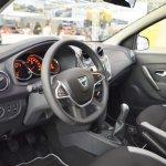 2017 Dacia Sandero interior at 2016 Bologna Motor Show