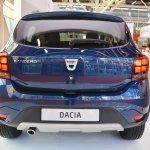 2017 Dacia Sandero rear at 2016 Bologna Motor Show