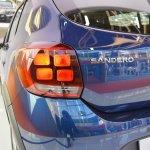 2017 Dacia Sandero tail lamp at 2016 Bologna Motor Show