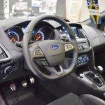 2017 Ford Focus RS interior at 2016 Bologna Motor Show