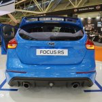 2017 Ford Focus RS rear at 2016 Bologna Motor Show