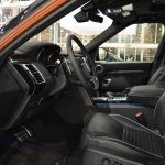 2017 Land Rover Discovery front seats at 2016 Bologna Motor Show