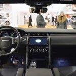 2017 Land Rover Discovery interior dashboard at 2016 Bologna Motor Show