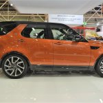 2017 Land Rover Discovery profile at 2016 Bologna Motor Show