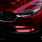 2017 Mazda CX-5 front three quarters front fascia