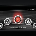 2017 Mazda CX-5 infotainment system
