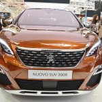 2017 Peugeot 3008 front at 2016 Bologna Motor Show