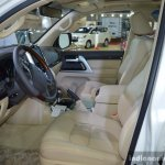 2017 Toyota Land Cruiser TRD front cabin in Oman