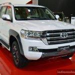 2017 Toyota Land Cruiser TRD front quarter in Oman