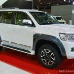 2017 Toyota Land Cruiser TRD front three quarter in Oman