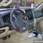 2017 Toyota Land Cruiser TRD interior in Oman