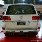 2017 Toyota Land Cruiser TRD rear in Oman