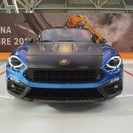 Abarth 124 Spider front at 2016 Bologna Motor Show