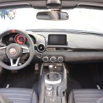 Abarth 124 Spider interior dashboard at 2016 Bologna Motor Show