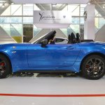 Abarth 124 Spider profile at 2016 Bologna Motor Show