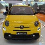 Abarth 595 Competizione front at 2016 Bologna Motor Show