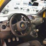 Abarth 595 Competizione interior at 2016 Bologna Motor Show