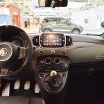 Abarth 595 Competizione interior dashboard at 2016 Bologna Motor Show