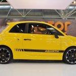 Abarth 595 Competizione profile at 2016 Bologna Motor Show
