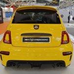 Abarth 595 Competizione rear at 2016 Bologna Motor Show
