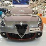 Alfa Romeo Giulietta Veloce front at 2016 Bologna Motor Show