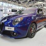 Alfa Romeo Mito Veloce front three quarters at 2016 Bologna Motor Show