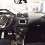 Alfa Romeo Mito Veloce interior dashboard at 2016 Bologna Motor Show