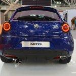 Alfa Romeo Mito Veloce rear at 2016 Bologna Motor Show