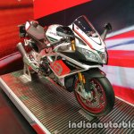 Aprilia RSV4 RF front three quarter at Thai Motor Expo