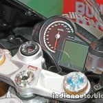 Aprilia RSV4 RF instrumentation at Thai Motor Expo