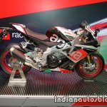Aprilia RSV4 RF side at Thai Motor Expo